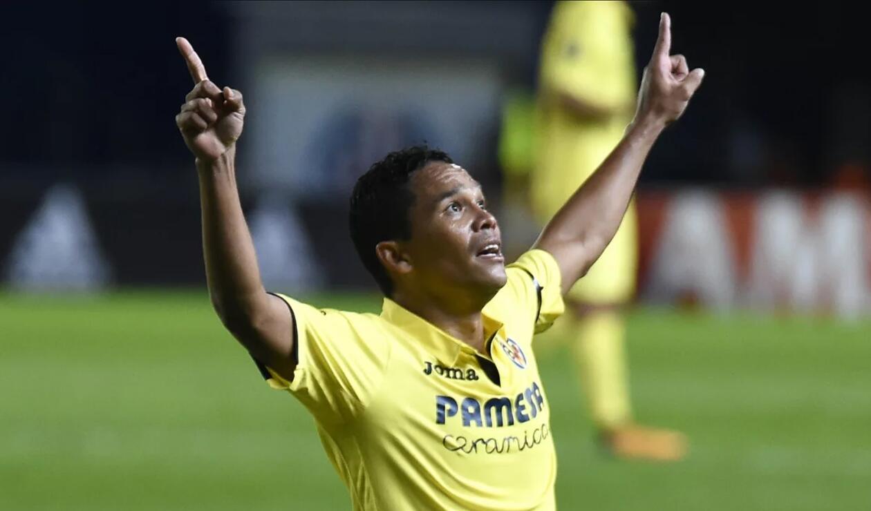 Carlos Bacca es oficialmente delantero de Villarreal