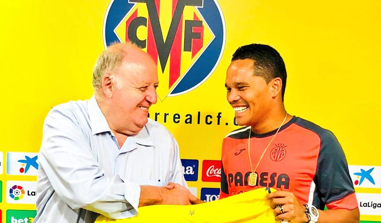 Carlos Bacca presentado como fichaje del Villarreal
