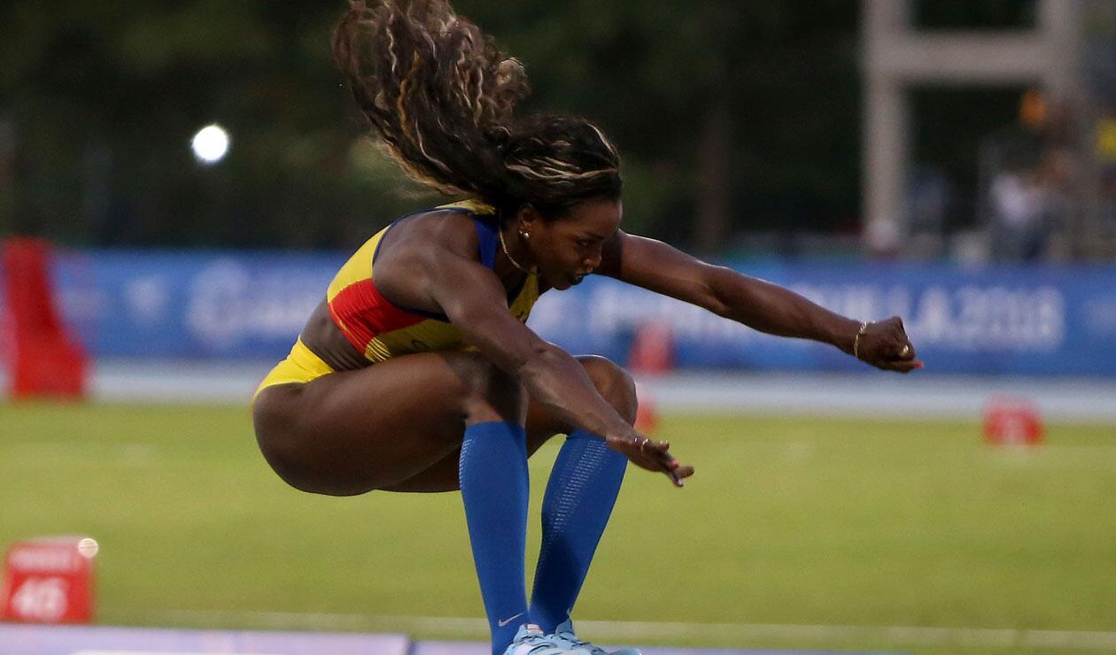 Caterine Ibargüen ganó la medalla de oro en los Centroamericanos
