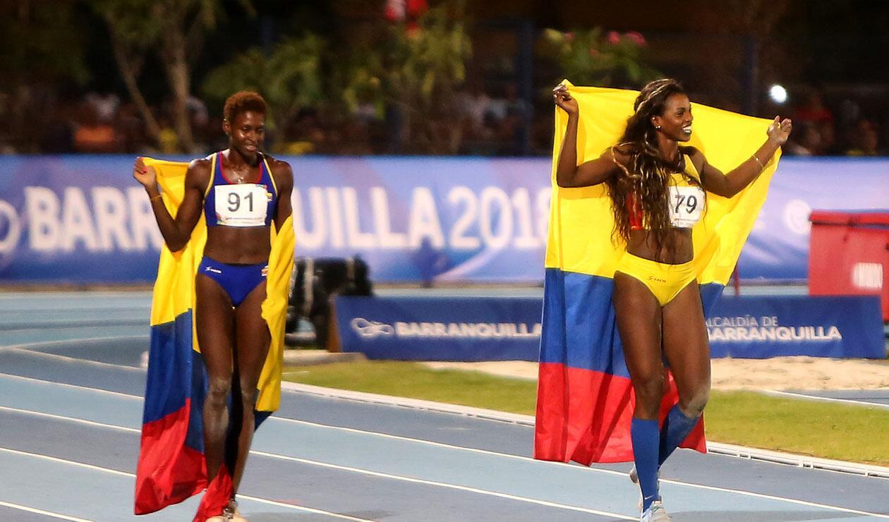 Caterine Ibargüen ganó medalla de oro en el salto triple