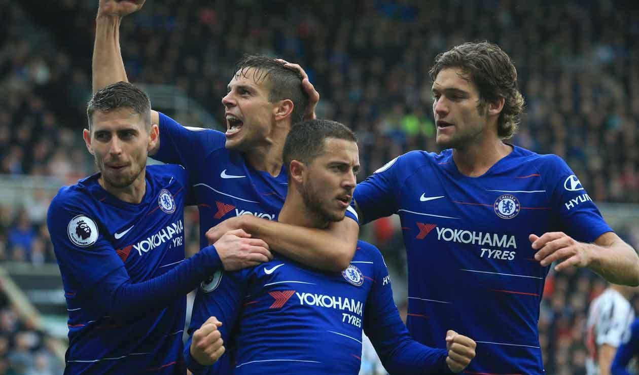 Chelsea, equipo que ha ganado en cinco ocasiones la Premier League desde que llegó Roman Abramovic