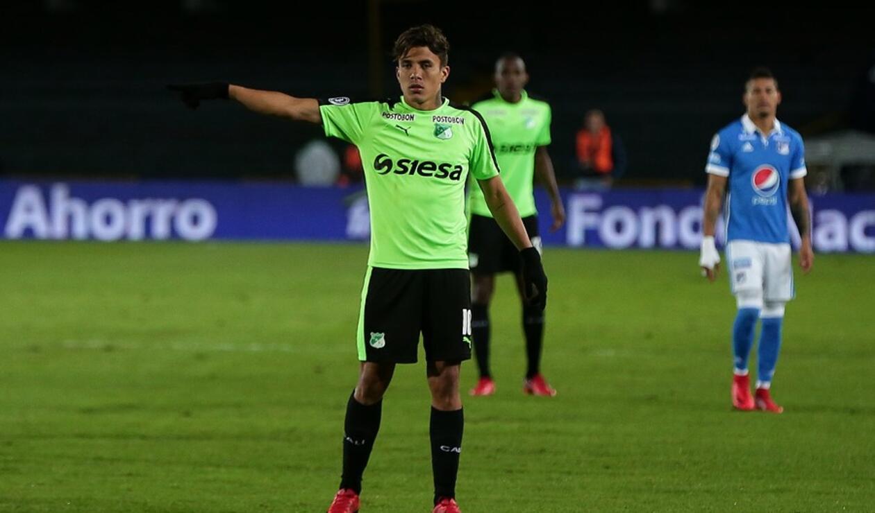 Andrés Felipe Roa con el Deportivo Cali