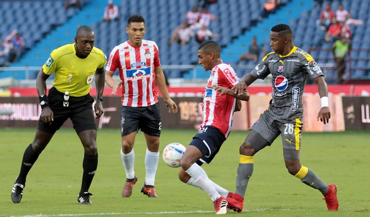 Junior vs Independiente Medellín en Barranquilla