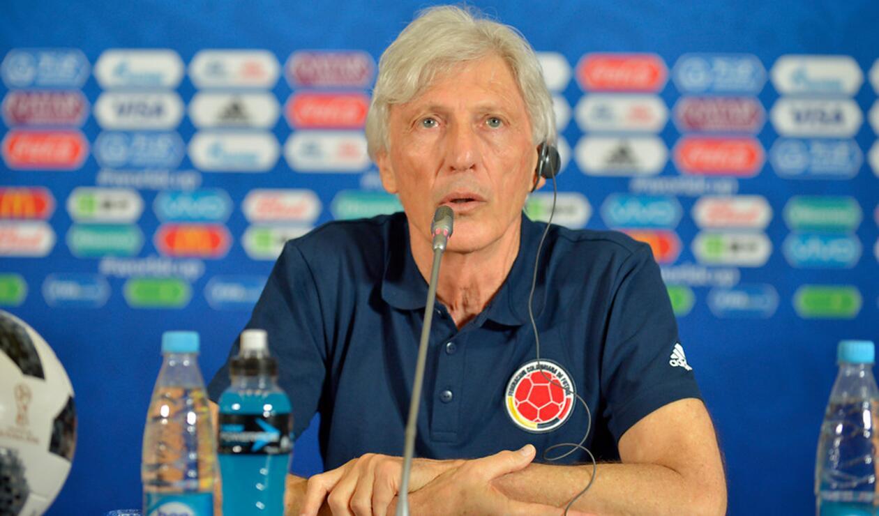 José Pékerman con la Selección Colombia