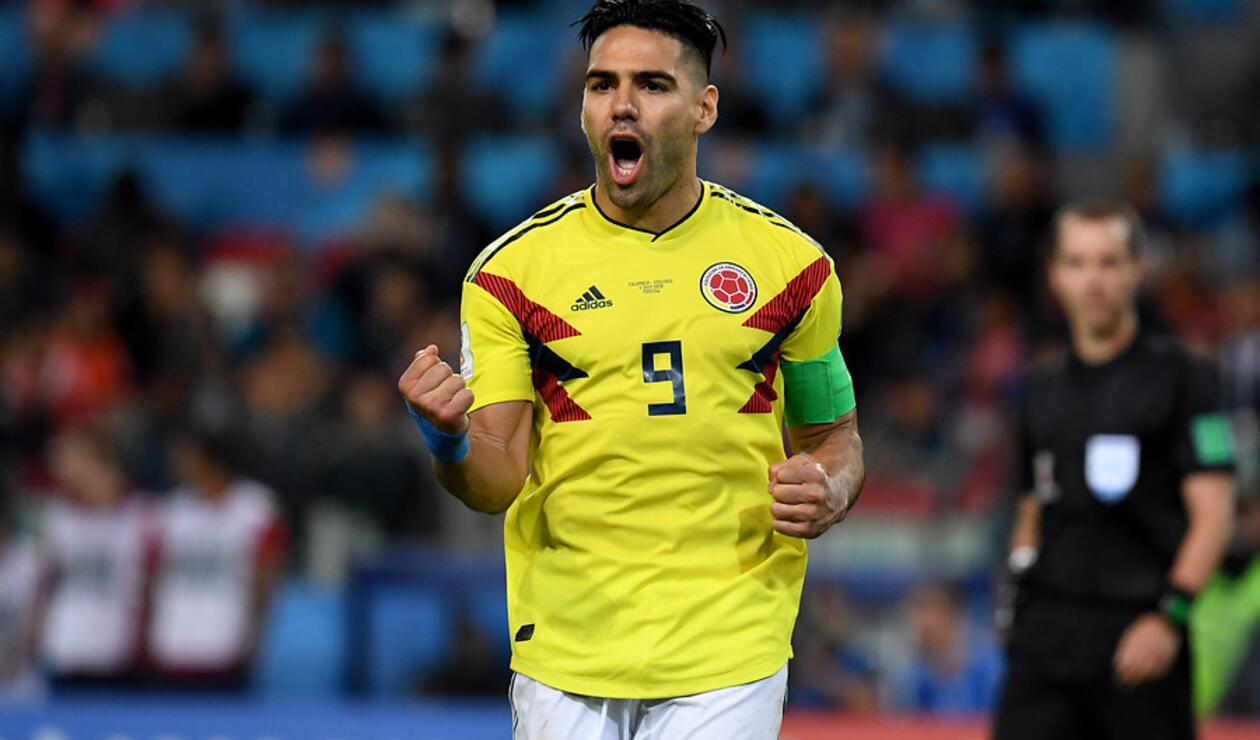 Falcao García, jugador de la Selección Colombia