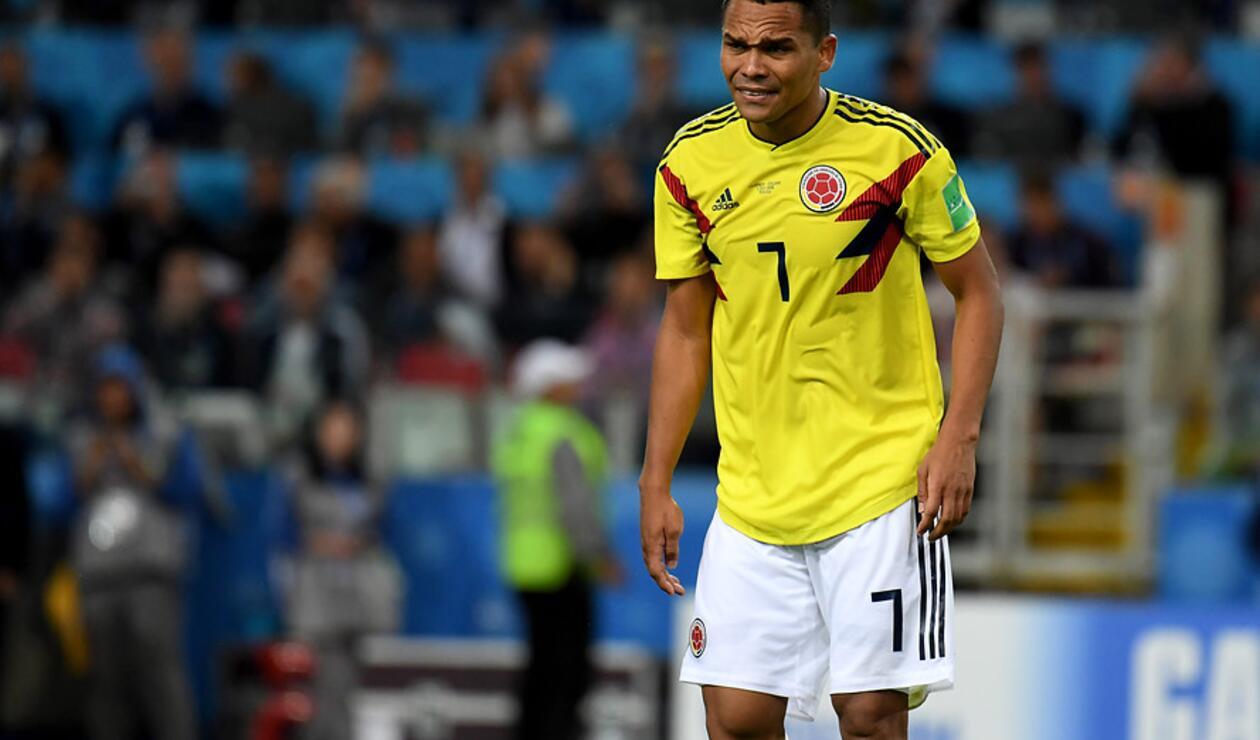 Carlos Bacca, jugador de la Selección Colombia