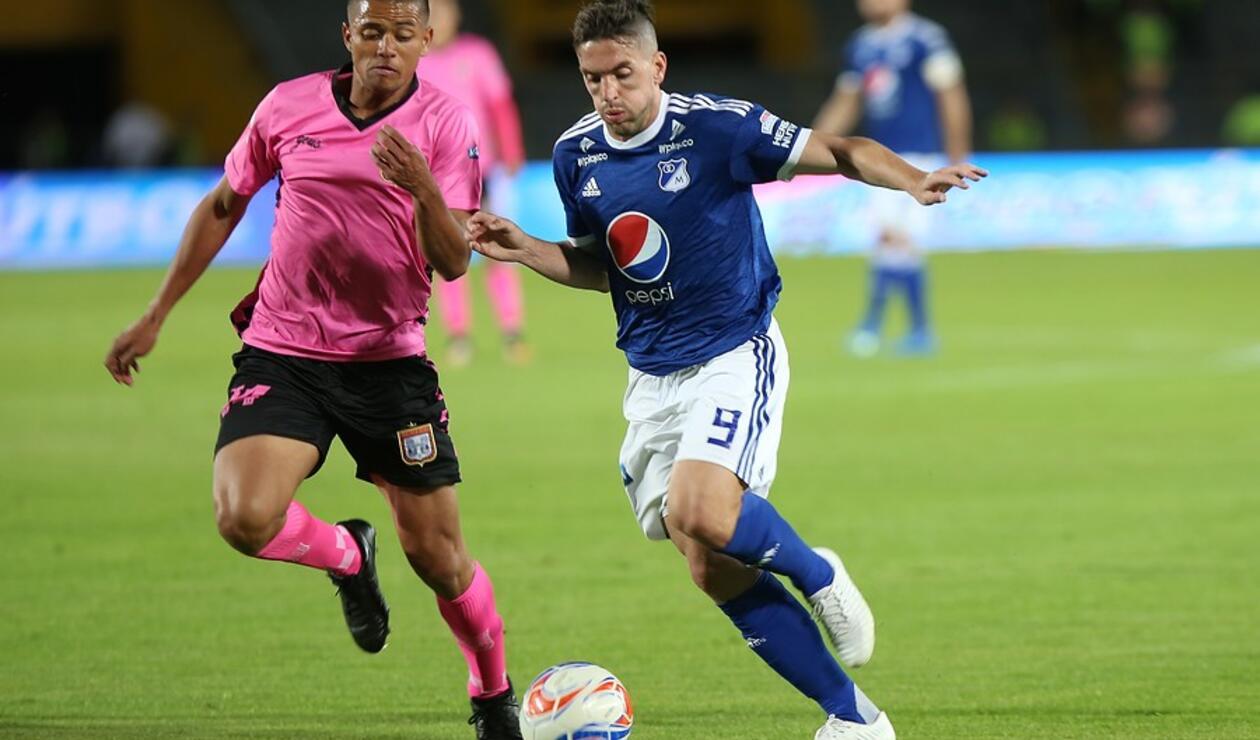 Gabriel Hauche, jugador de Millonarios
