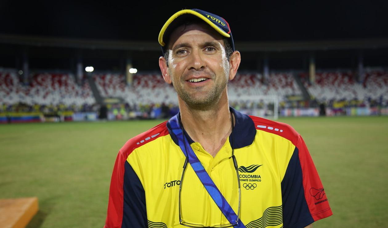 Arturo Reyes, técnico interino de la Selección Colombia