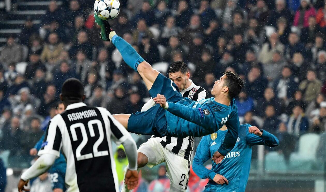 El gol de chilena de Cristiano a la Juventus