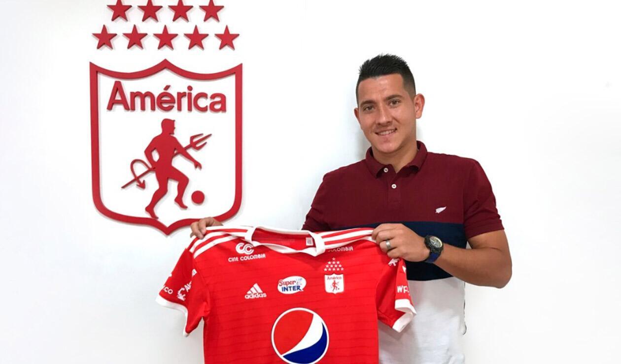 Daniel Buitrago fue presentado como jugador del América de Cali