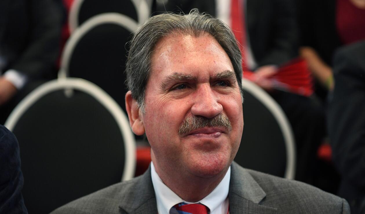 David Haggerty presidente de la ITF