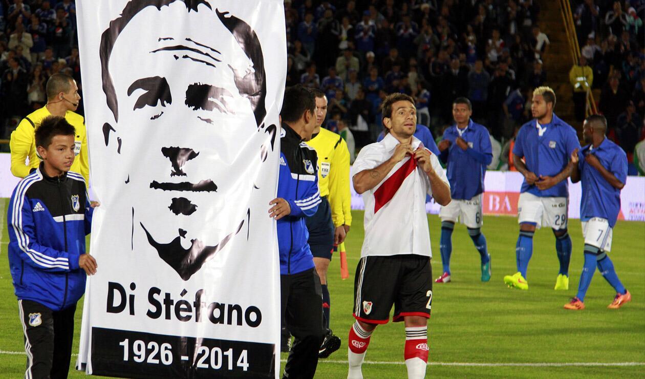 Millonarios - River Plate, homenaje Alfredo Di Stéfano