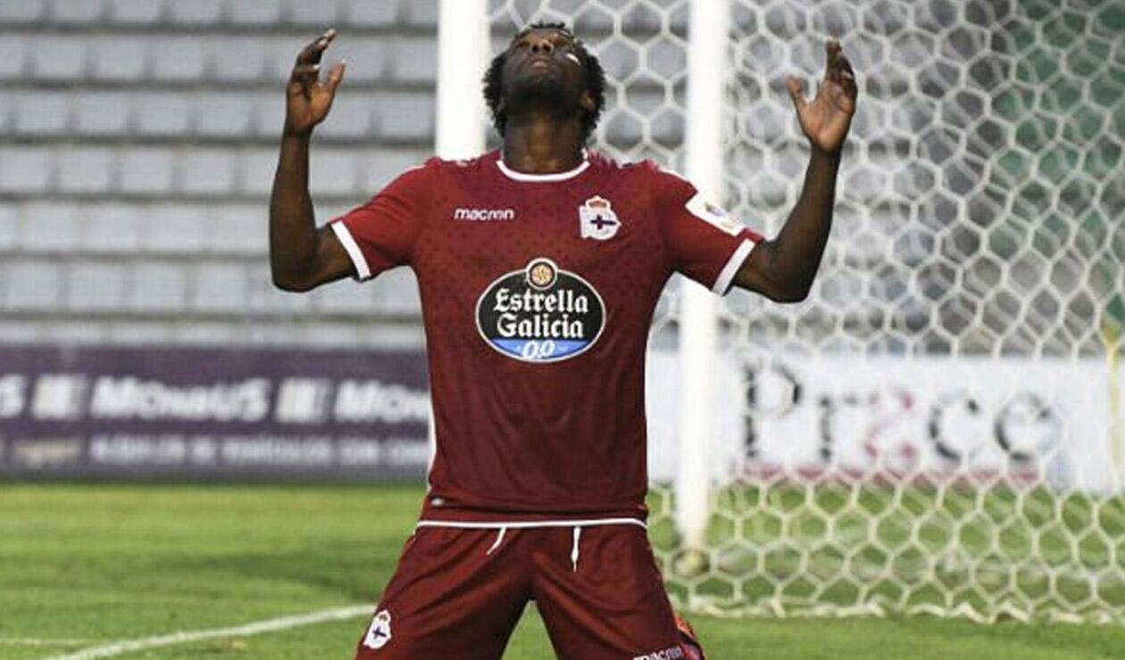 Didier Moreno, jugador colombiano que juega en el Deportivo de la Coruña