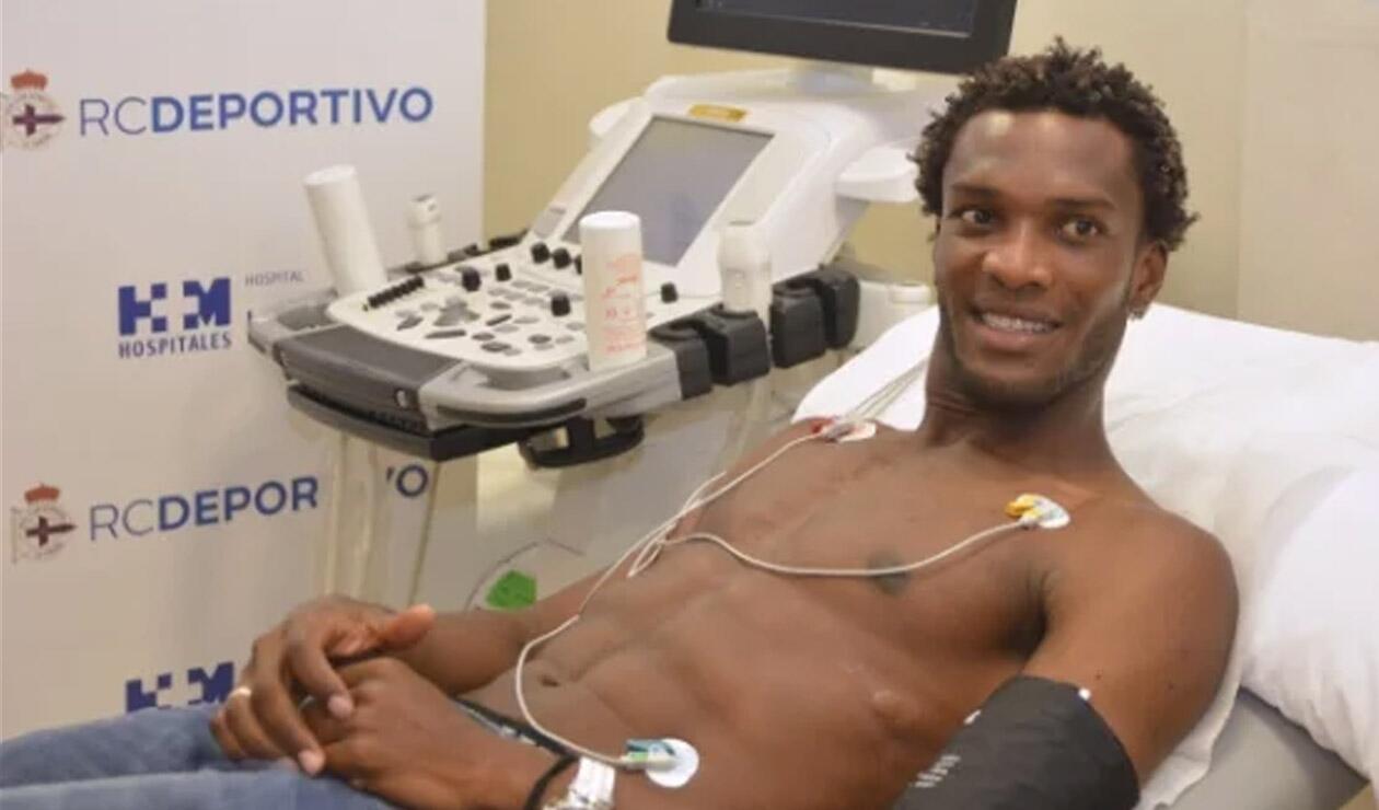 Didier Moreno, jugador del Deporivo de la Coruña