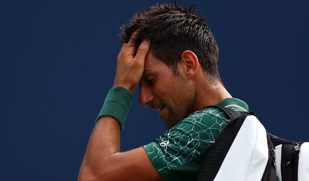 Novak Djokovic, eliminado en los octavos del Masters 1000 de Toronto