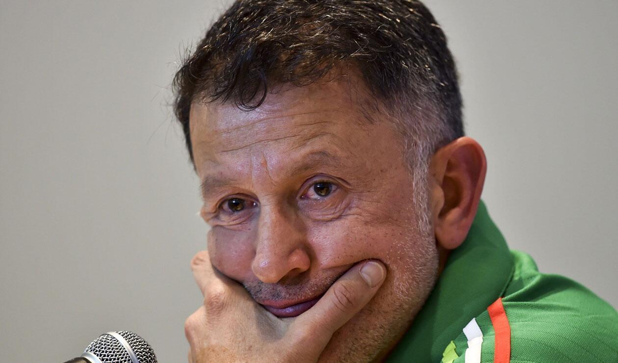 Juan Carlos Osorio en su paso por la selección de México