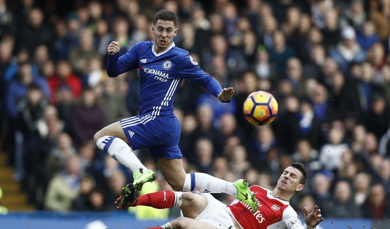 Eden Hazard, centrocampista del Chelsea