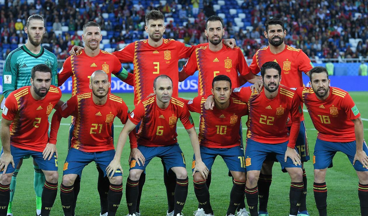 Selección de España en Rusia 2018