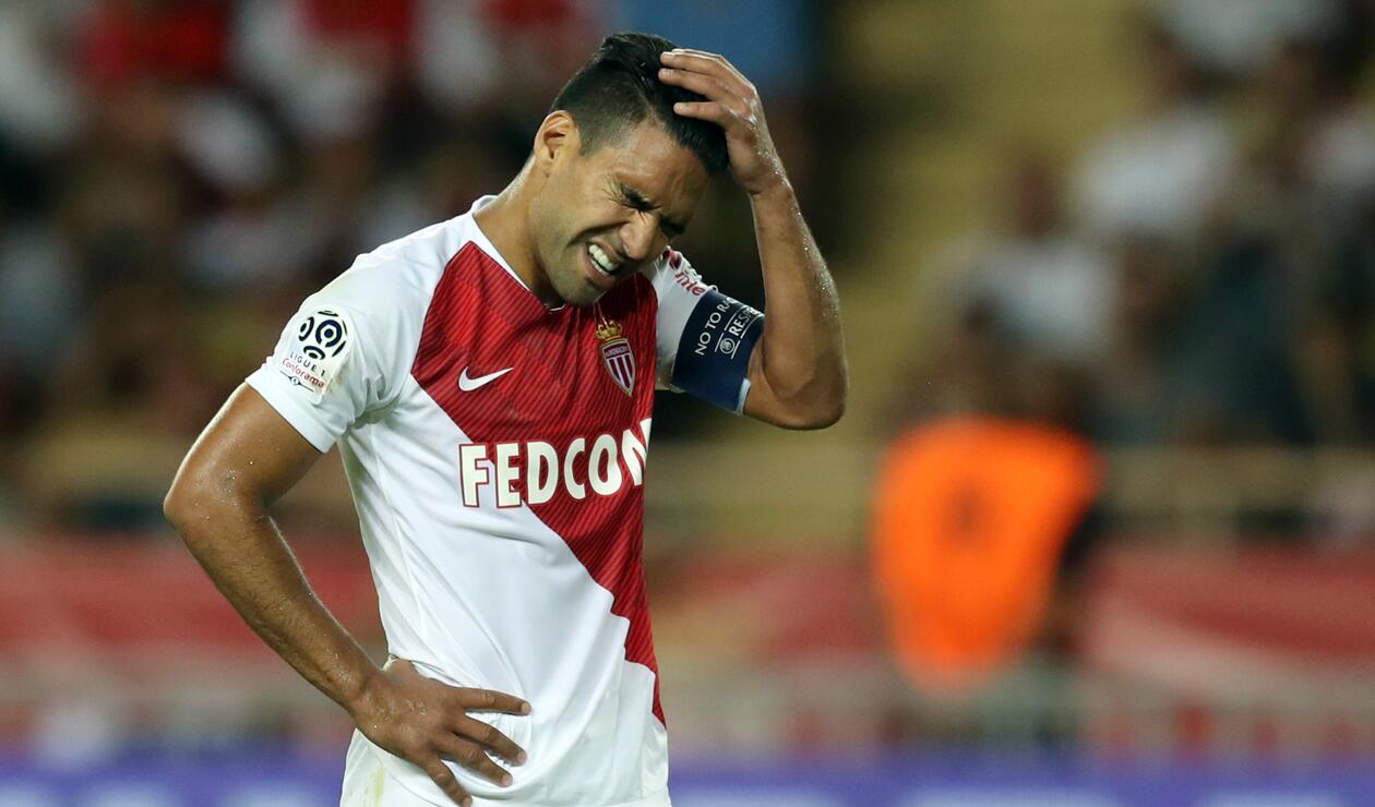 Falcao fue titular con el Mónaco