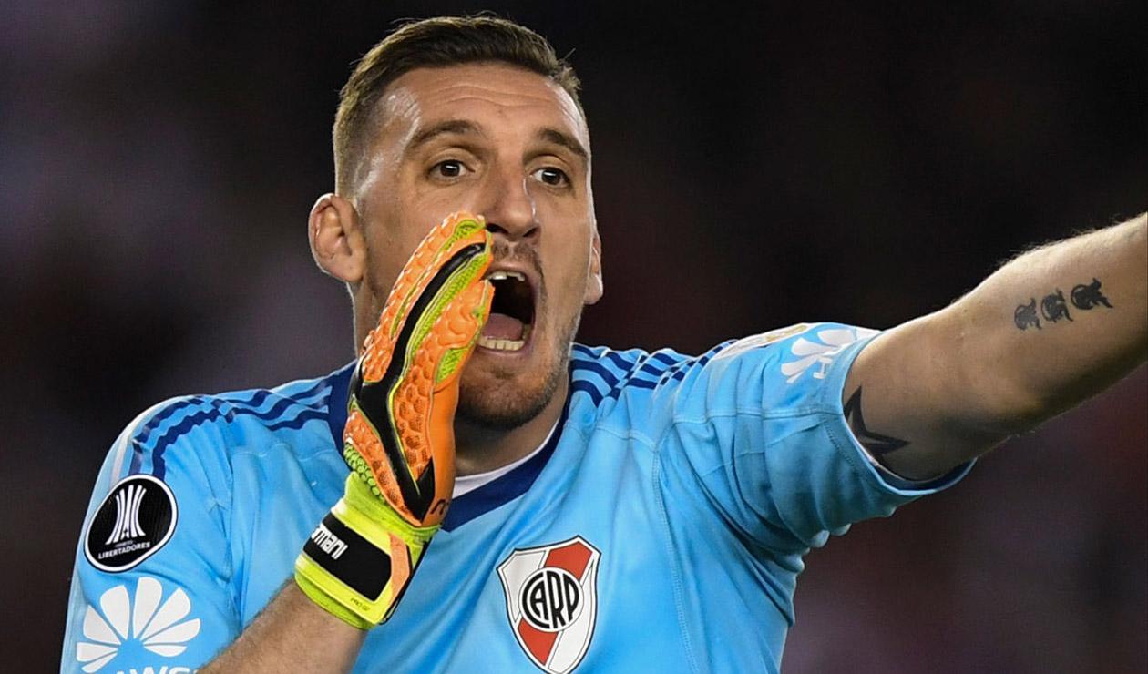Franco Armani, jugador de River Plate