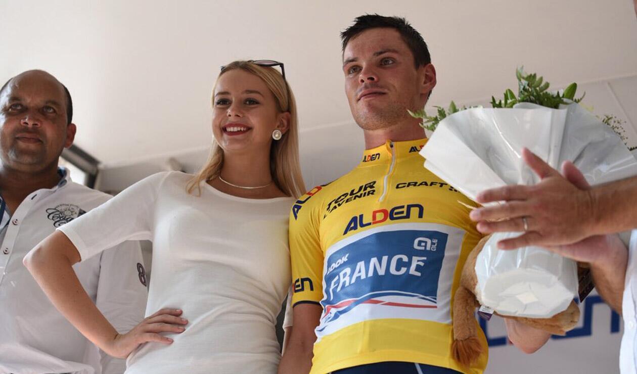 Alan Rou ganó la segunda etapa del Tour de L'Avenir