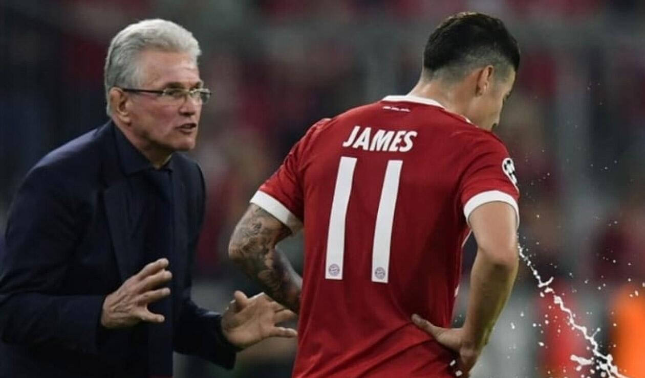 Jupp Heynckes y James Rodríguez