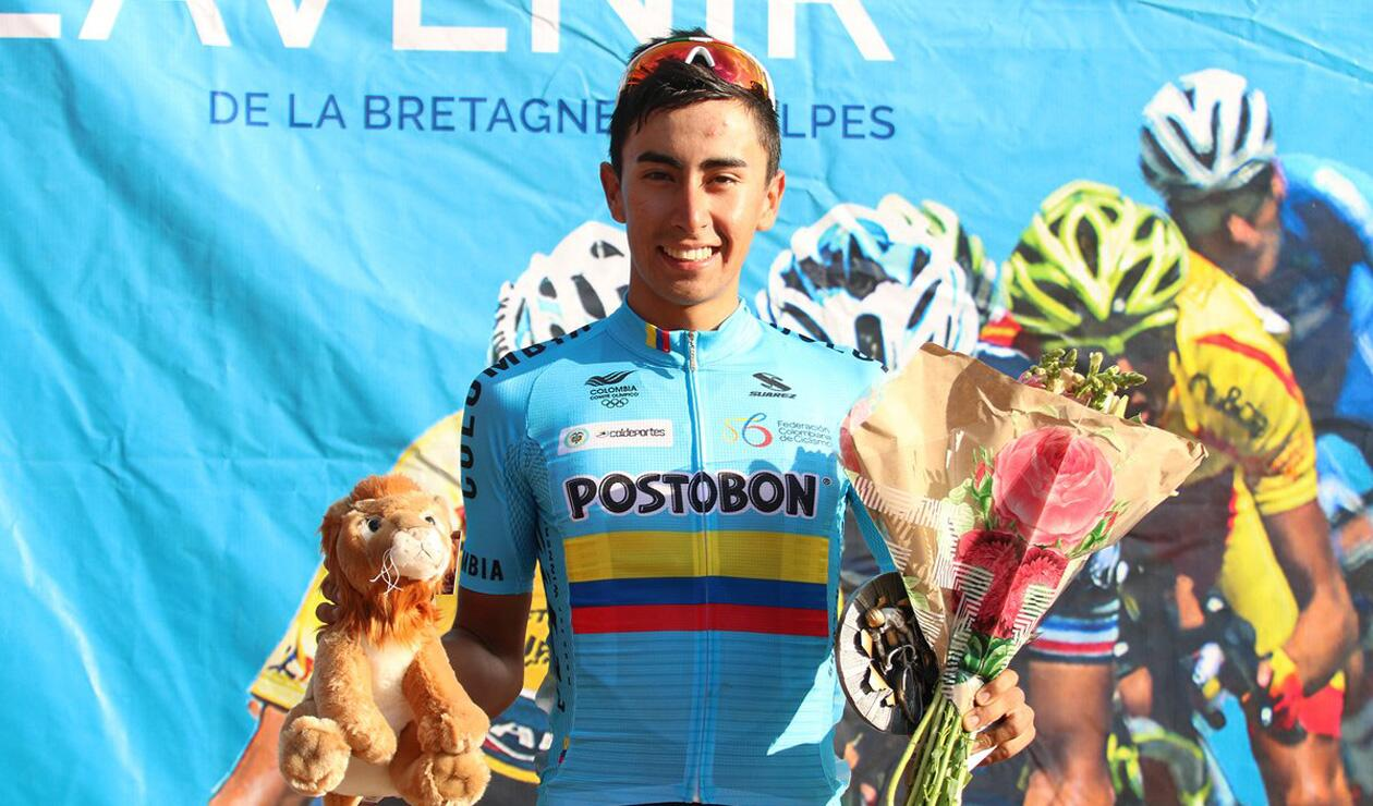 Iván Ramiro Sosa, ciclista colombiano