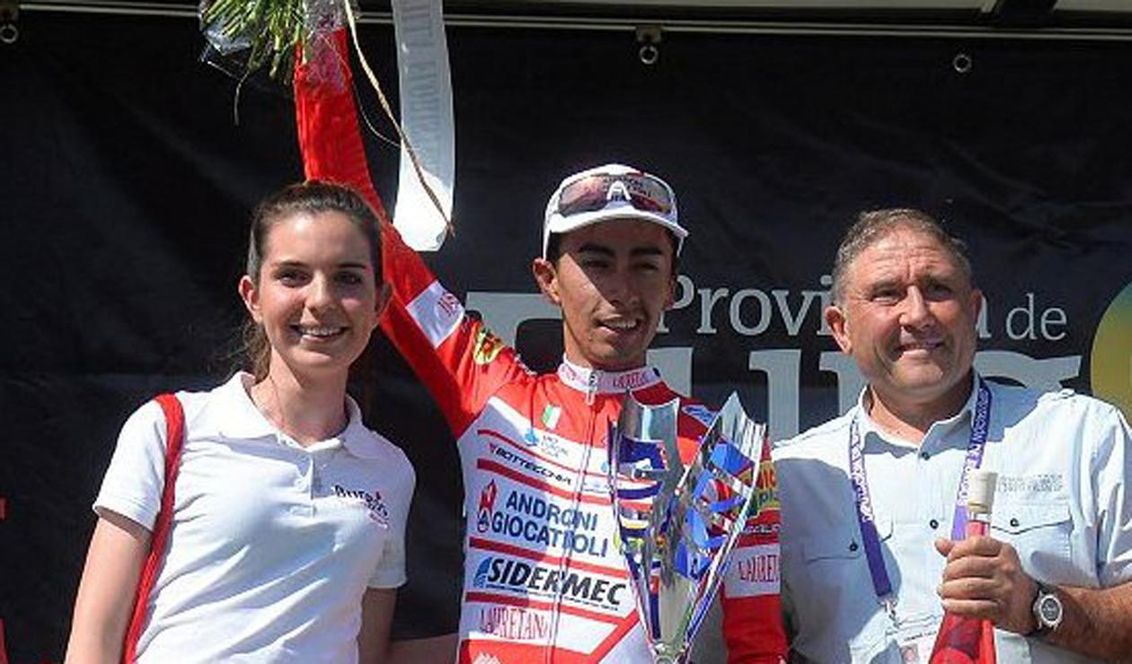 Iván Ramiro Sosa se quedó con la Vuelta a Burgos 2018