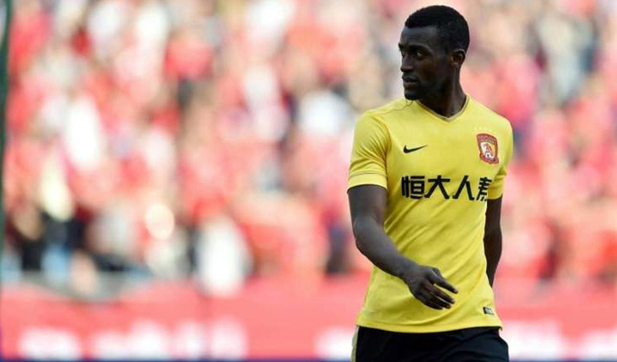 Jackson Martínez, jugador colombiano que juega en el fútbol de China