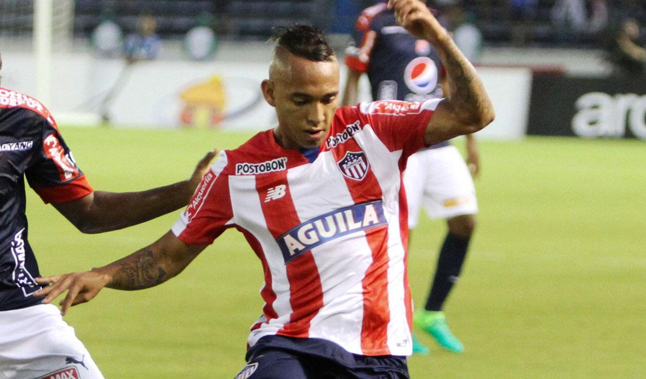 Jarlan Barrera no renovaría su contrato con el Junior de Barranquilla