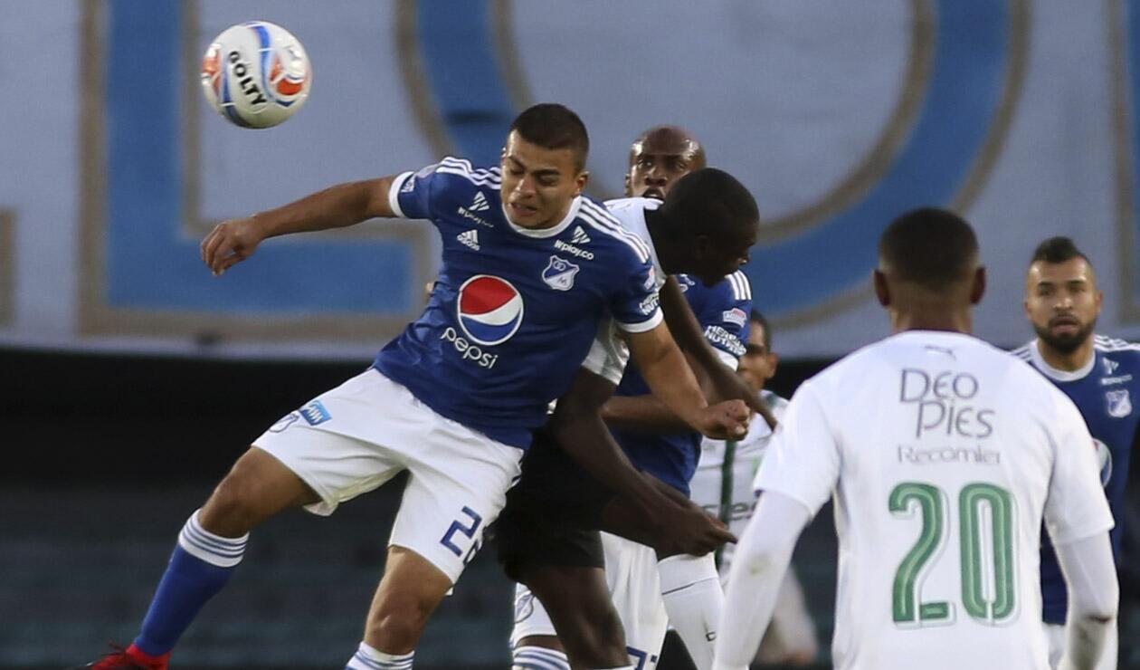 Jhon Duque, jugador de Millonarios