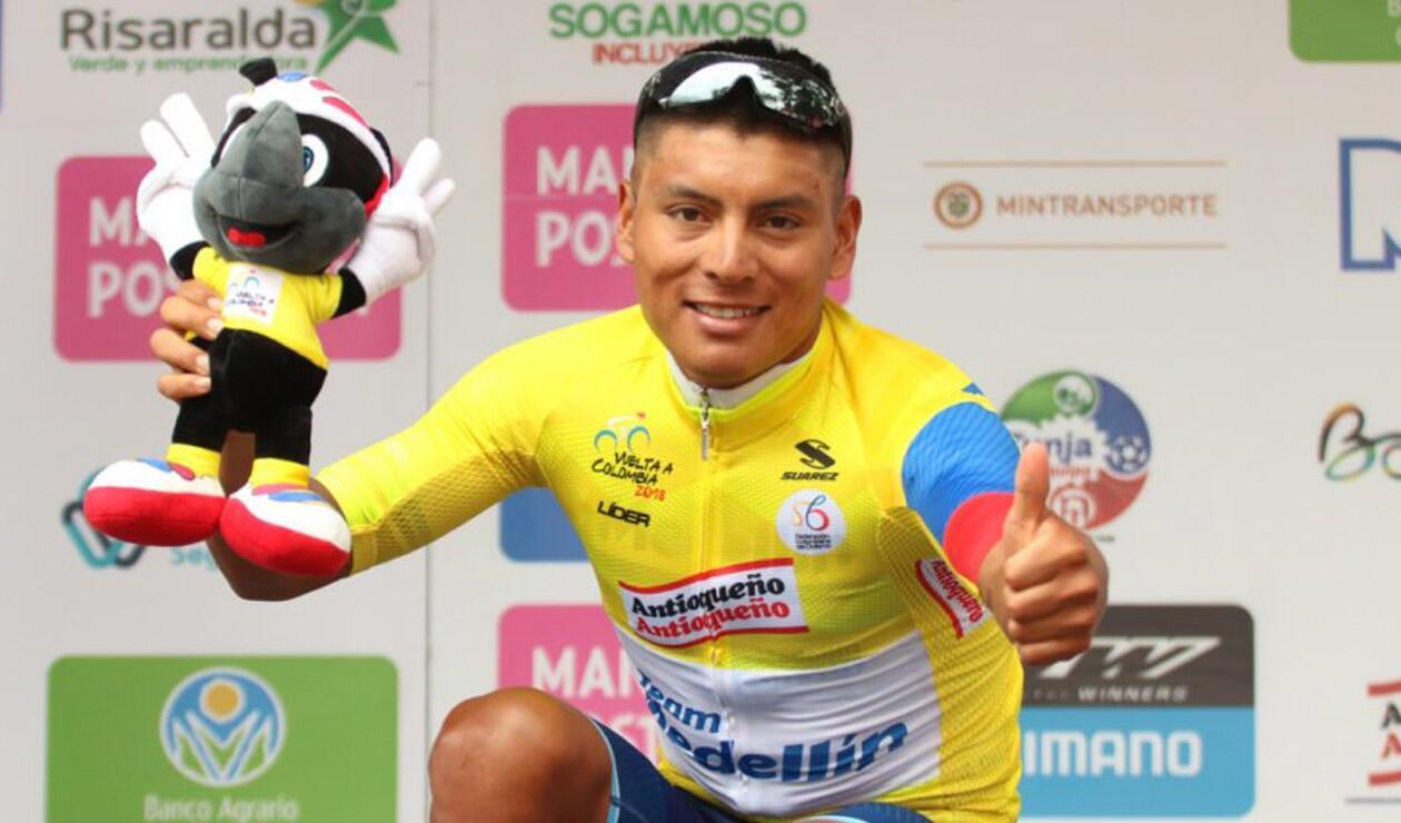 Jonathan Caicedo, campeón virtual de la Vuelta a Colombia