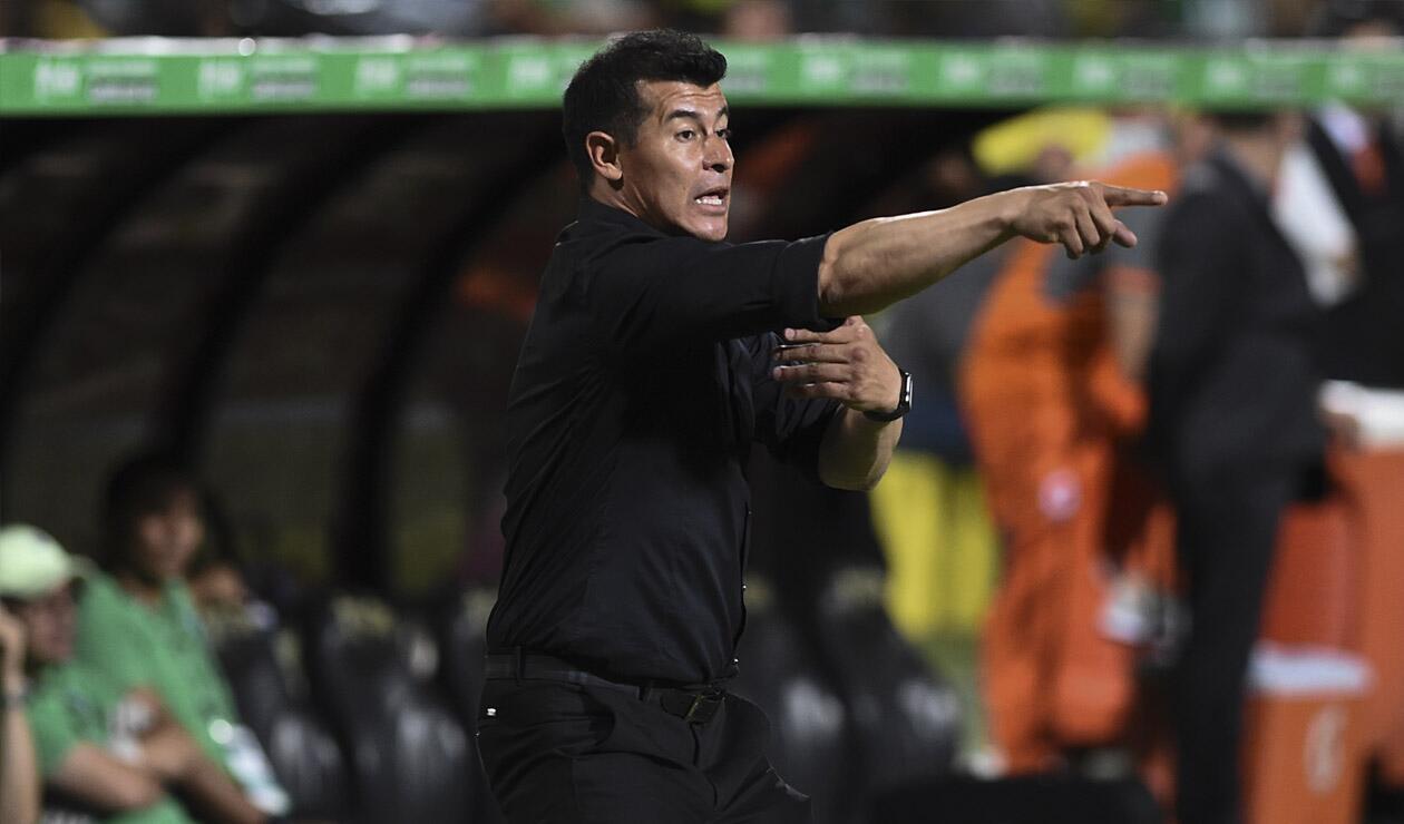 Jorge Almirón, técnico de Atlético Nacional
