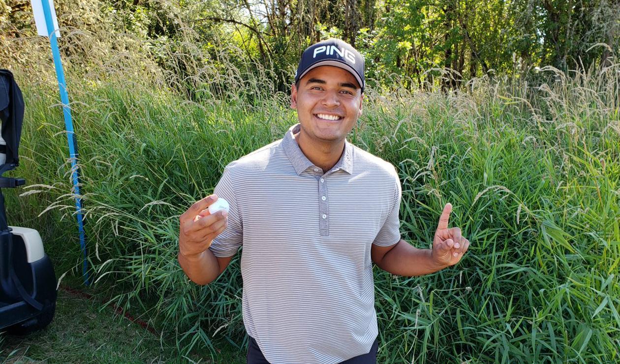 Juan Sebastián Muñoz, golfista colombiano