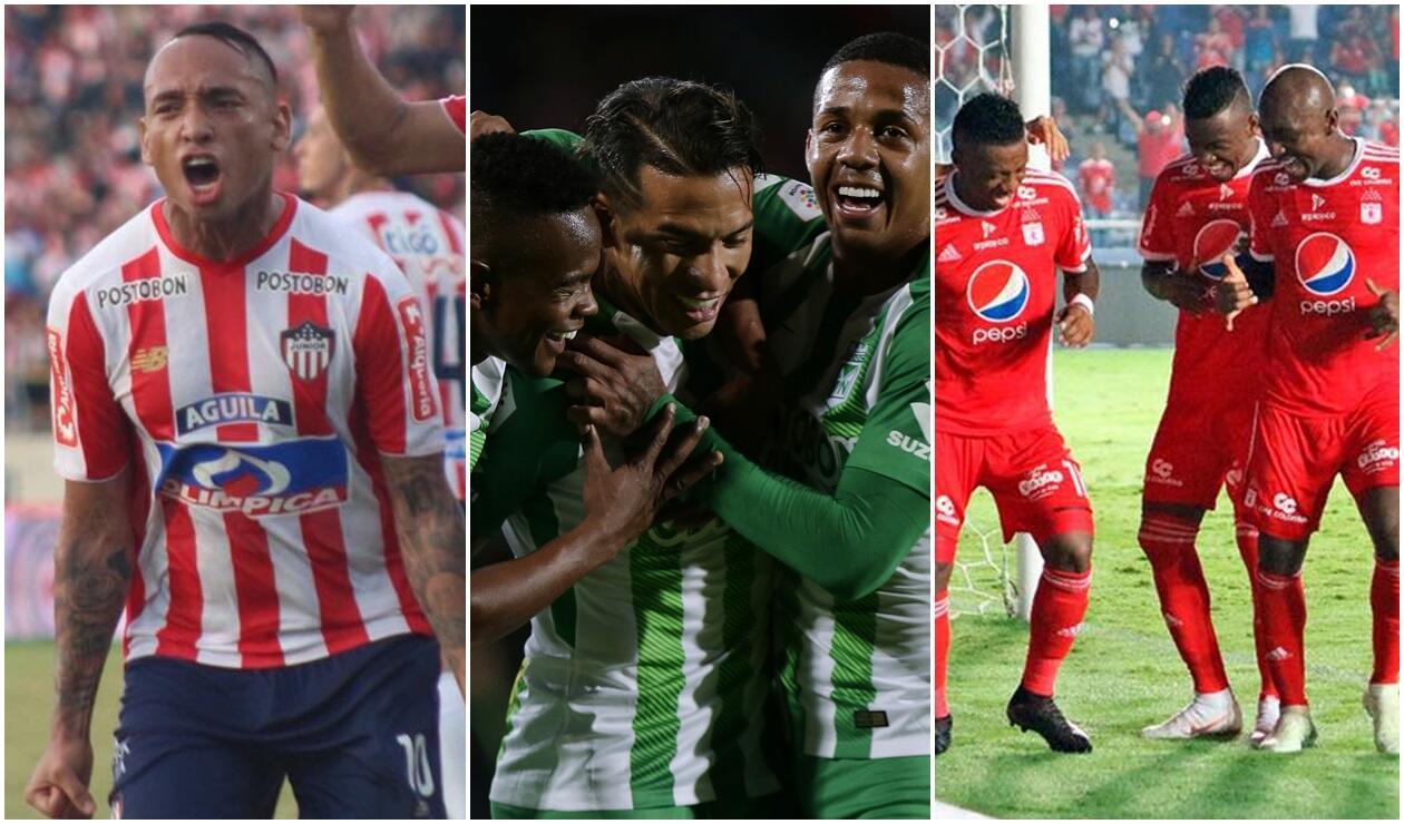Junior, Nacional y América debutan en la Copa Águila