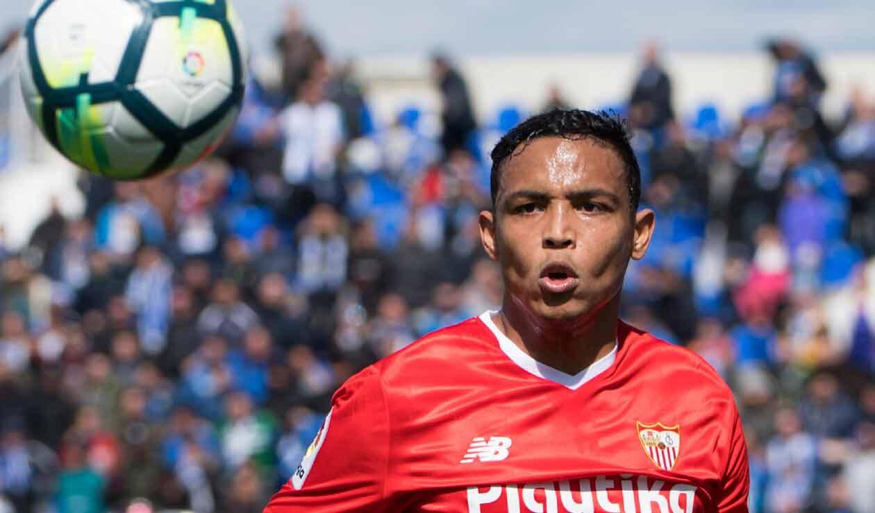 Luis Fernando Muriel sigue sin convencer en el Sevilla de España