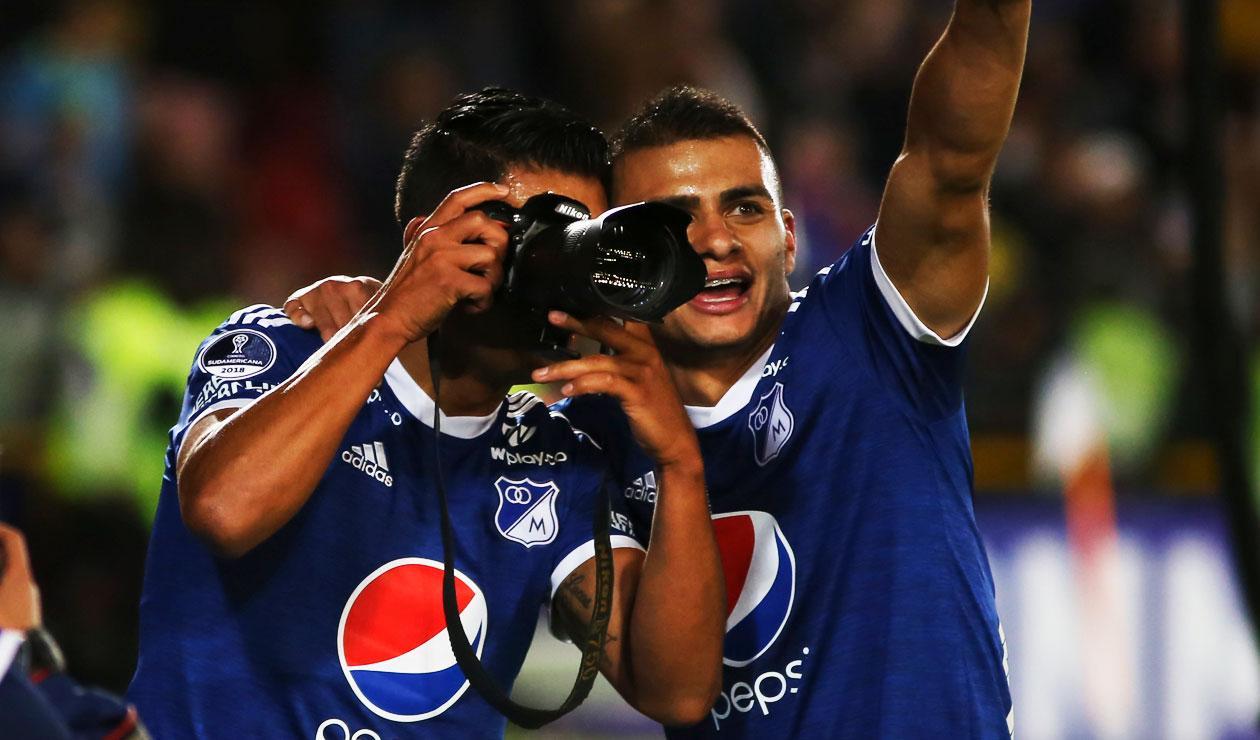 David Silva y Jhon Duque Millonarios