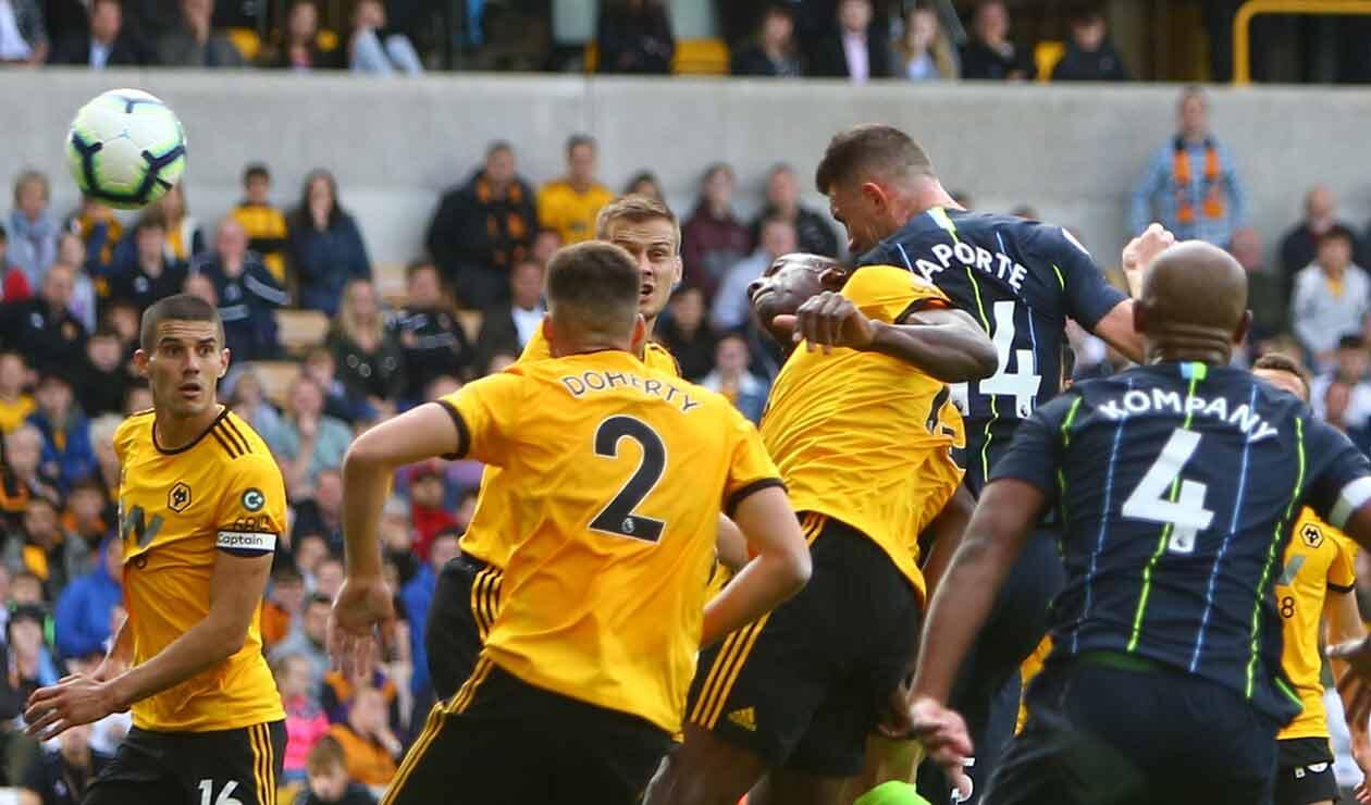 Manchester City empató 1-1 ante Wolverhampton en la Premier League