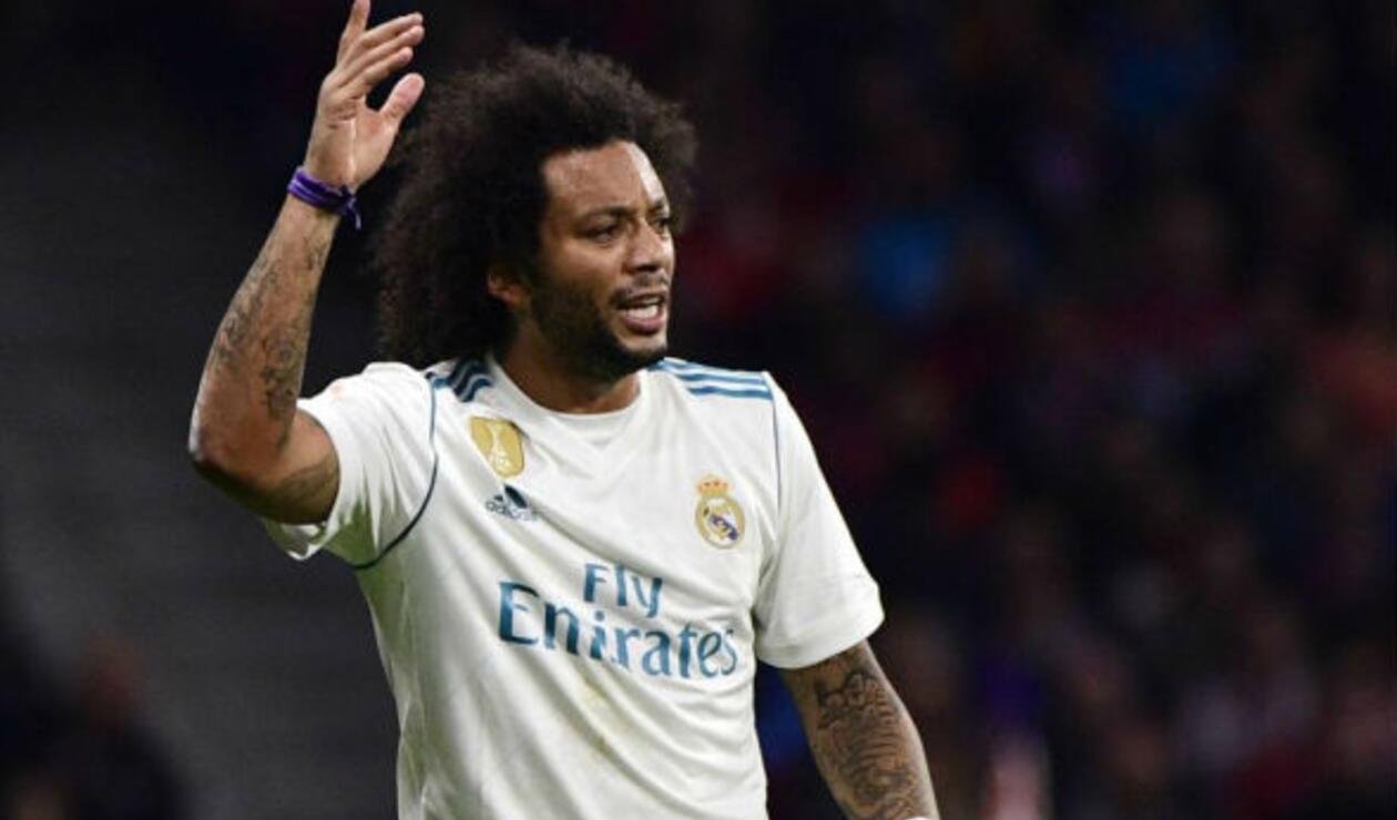 Marcelo tiene lesión muscular en el sóleo de la pierna derecha y estaría fuera por lo menos dos semanas.