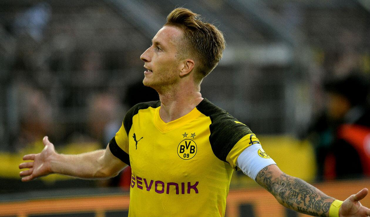 Marco Reus, jugador del Borussia Dortmund