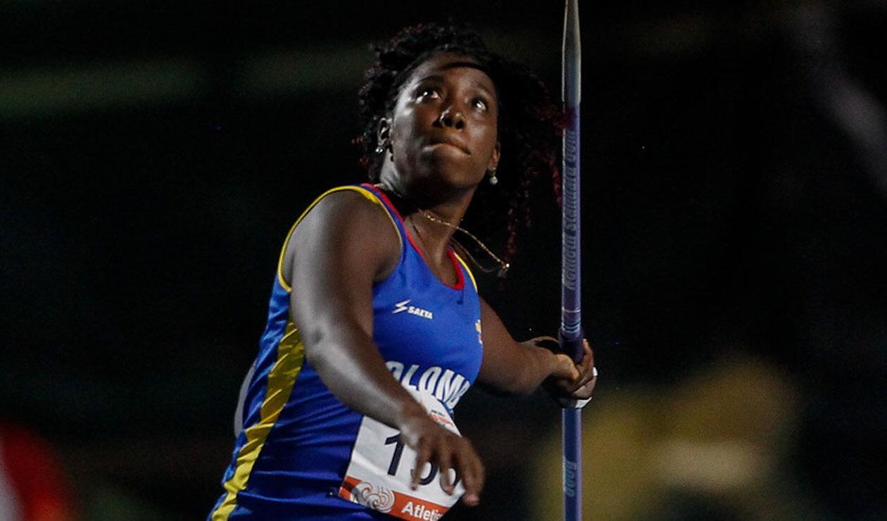 María Murillo ganó la sexta medalla de oro para Colombia en atletismo