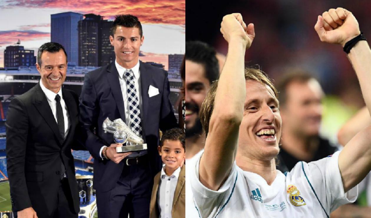 """Jorge Mendes tildó de """"ridículo"""" que Cristiano no haya ganado el MVP"""