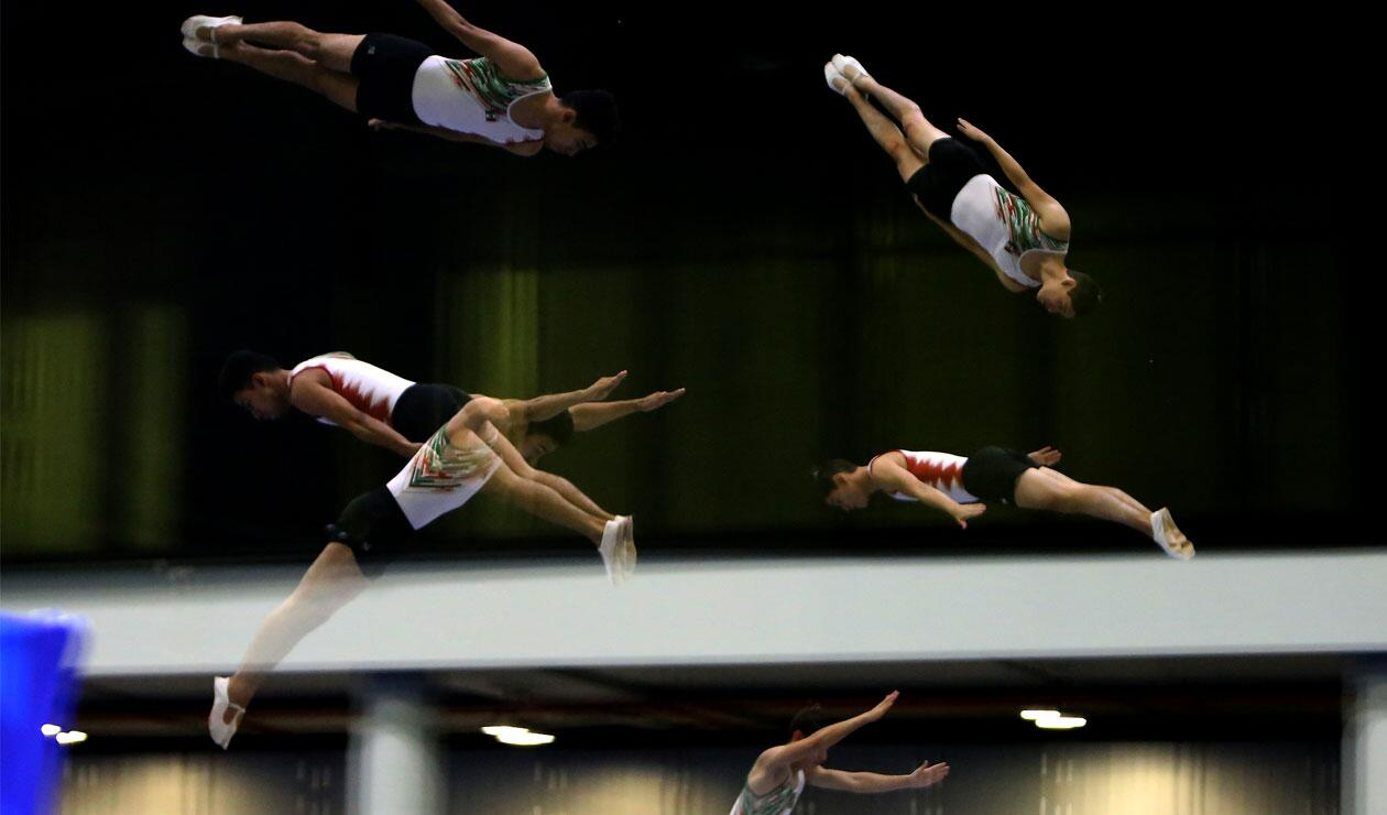 México también hizo presencia en la prueba de trampolín por parejas de los Juegos Centroamericanos y del Caribe Barranquilla 2018