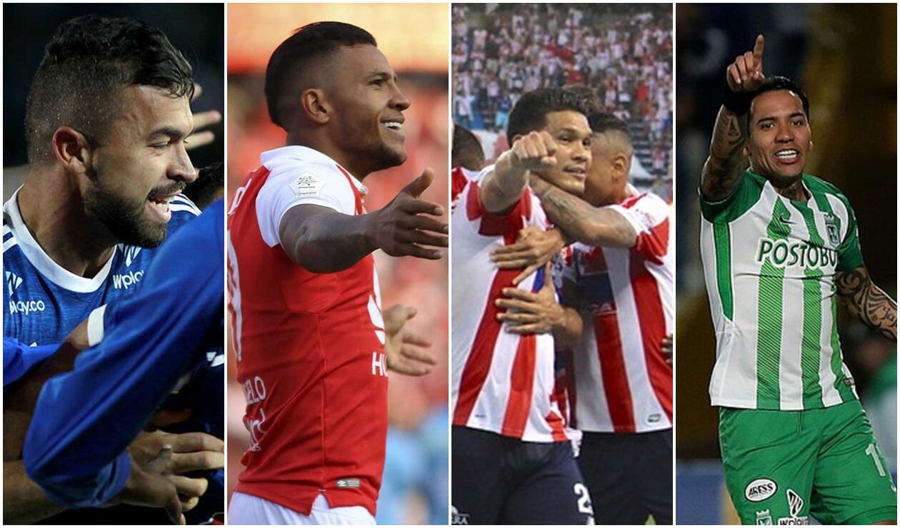 Los clasificados a cuartos de final de la Copa Águila