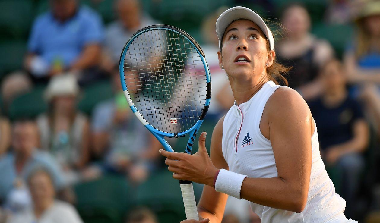 Garbiñe Muguruza, tenista española