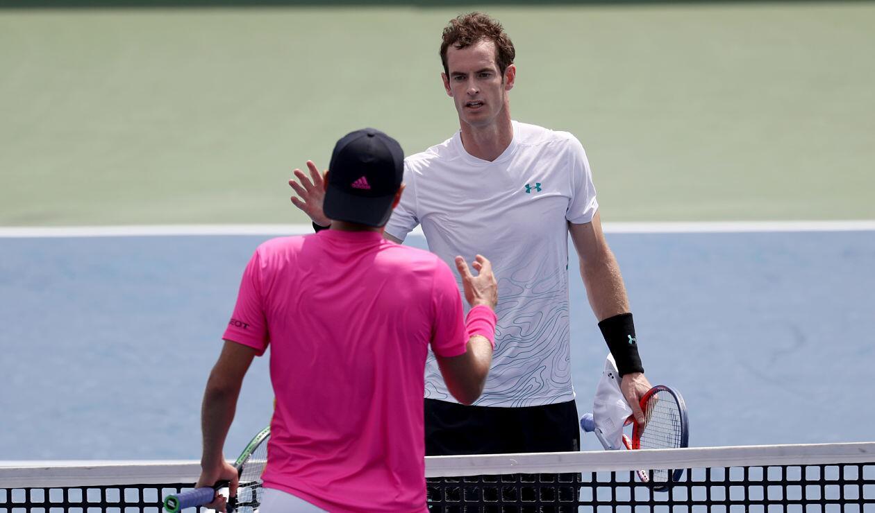 Andy Murray se despidió en primera ronda del Masters 1000 de Cincinnati