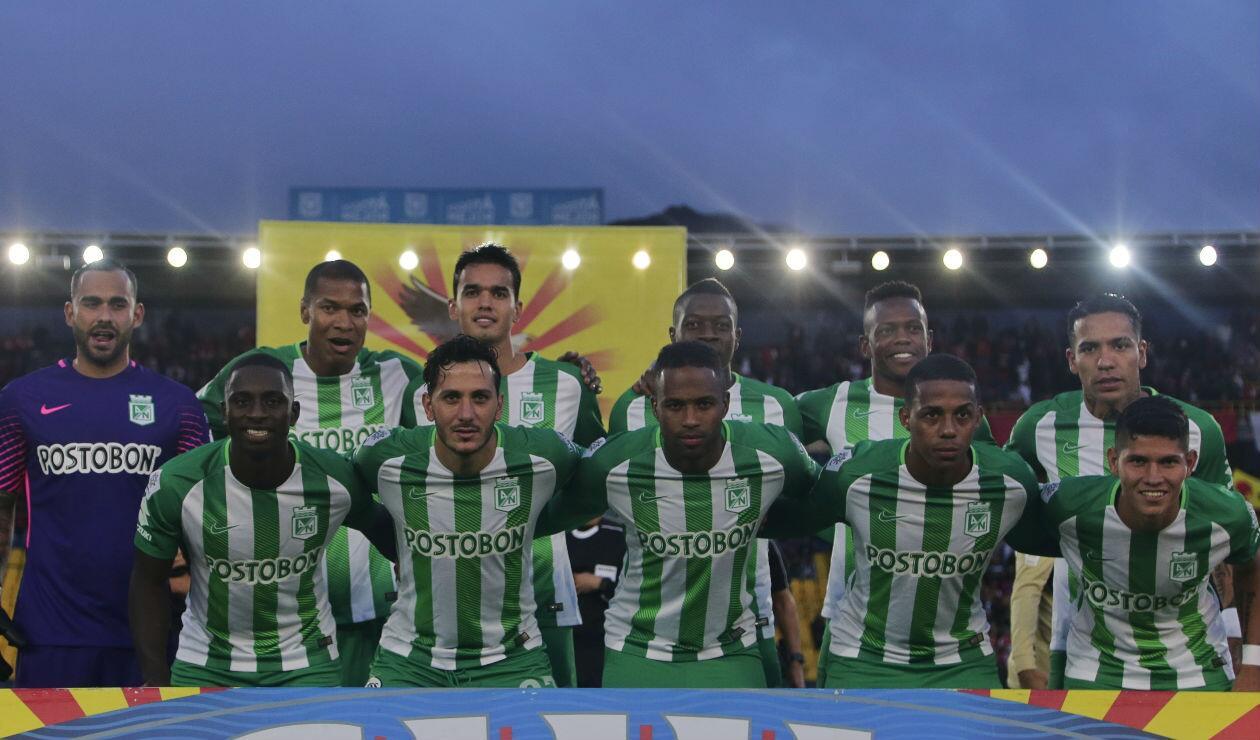 Atlético Nacional en la Liga Águila 2018-II