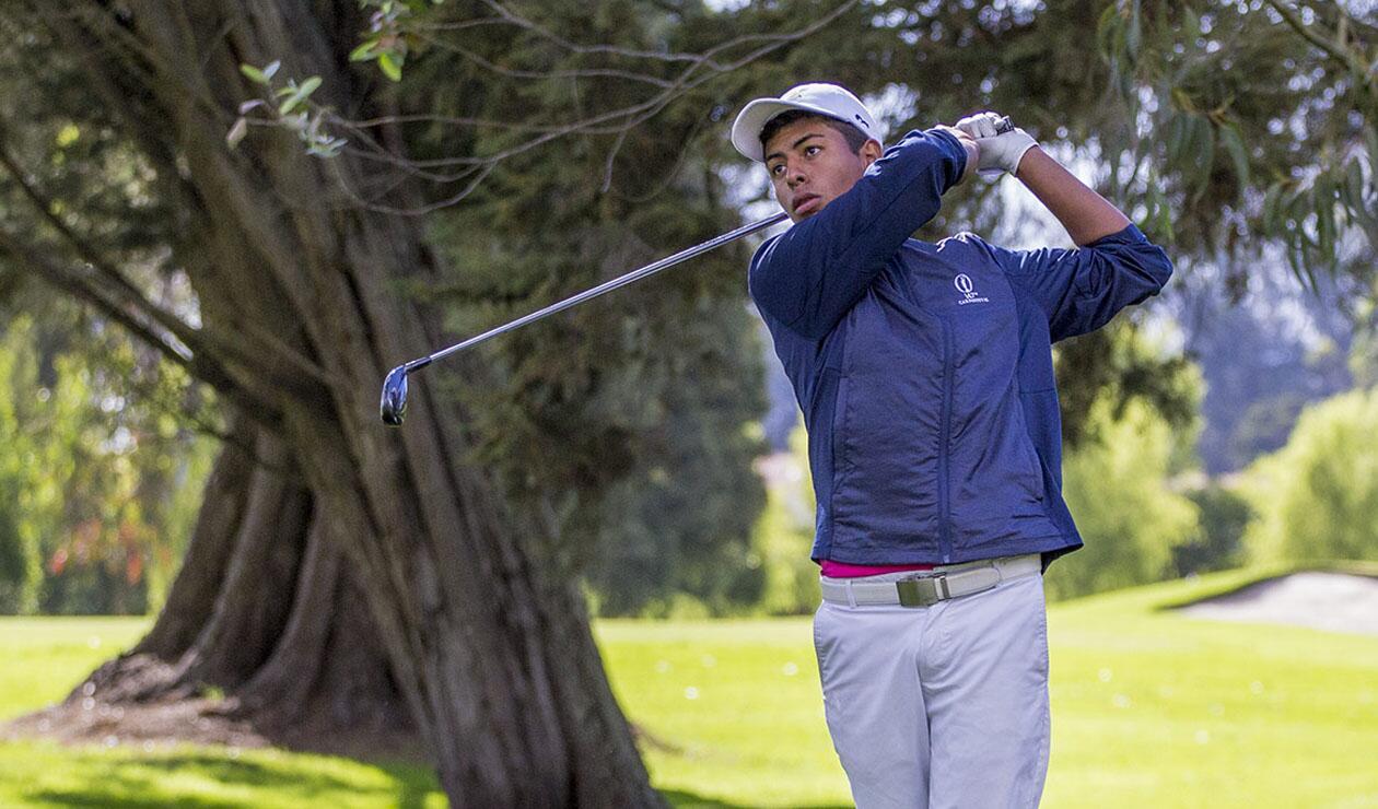 Nicolás Llanos, el ganador en el cuadro masculino en la 'Copa Donovan'