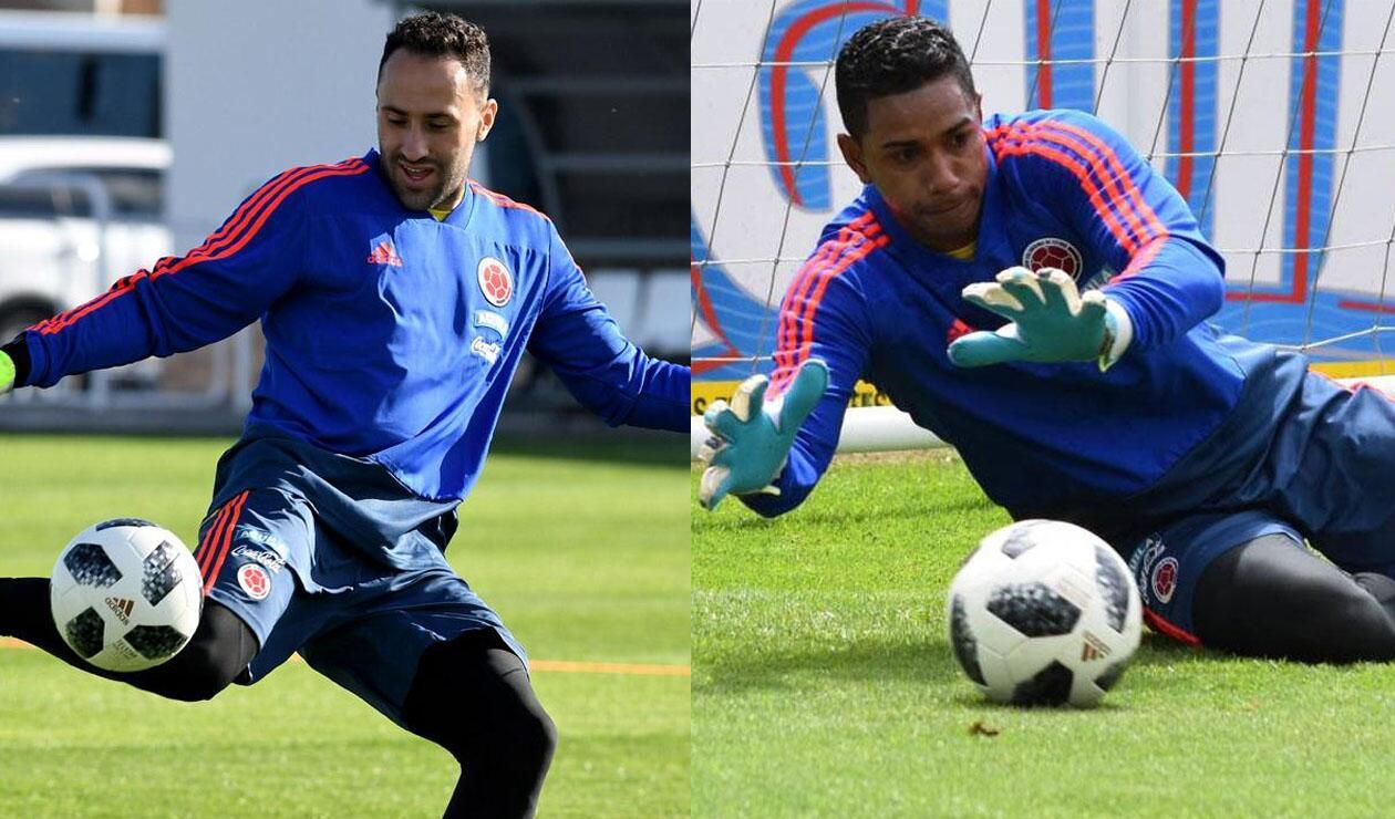 David Ospina y José Cuadrado