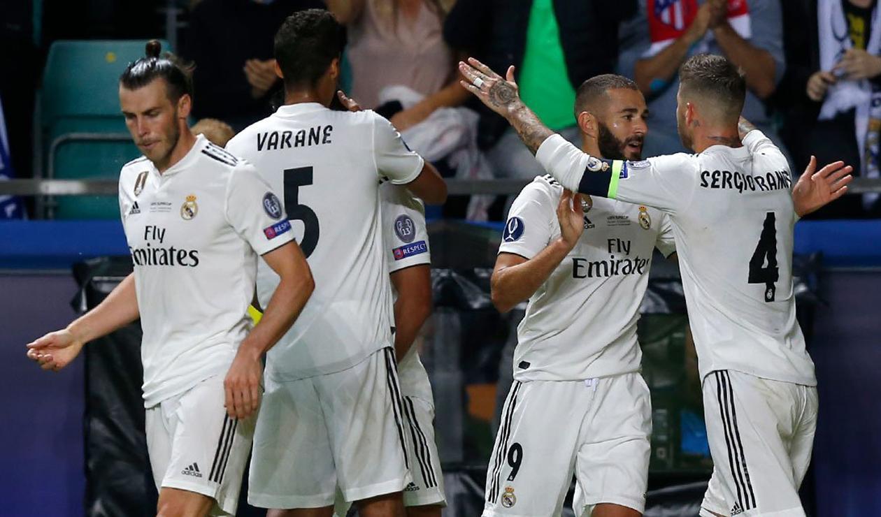 Real Madrid perdió la Supercopa de Europa